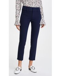 Alice + Olivia - Stacey Slim Ankle Trousers - Lyst