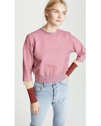 Toga Pulla - Lame Knit Pullover - Lyst