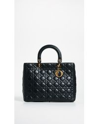 What Goes Around Comes Around - Dior Lady Dior Bag - Lyst