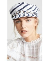 Eugenia Kim Marina Velvet Hat - Lyst 793746564b0b