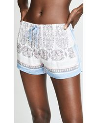 Pj Salvage - Vintage Paisley Shorts - Lyst