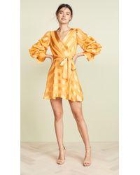 Alice + Olivia - Santina Shirt Dress - Lyst