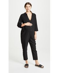 Hatch The Jumpsuit Sienna in Black - Lyst 570e9ace16e