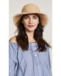 Hat Attack - Rachel Fringed Hat - Lyst