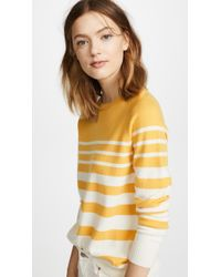 Chinti & Parker - Striped Cashmere Cardigan - Lyst