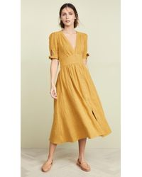 Free People Love Of My Life Dress - Yellow