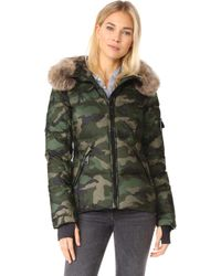 Sam. | Camo Blake Down Jacket | Lyst