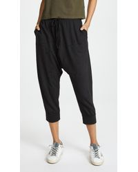 Sundry - Star Applique Long Rise Trousers - Lyst