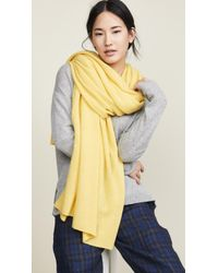 White + Warren - Travel Wrap Cashmere Scarf - Lyst