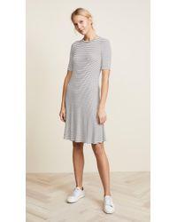 Three Dots - Hyannis Stripe Easy Dress - Lyst