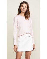 Courreges - Oversized Long Sleeves Pullover - Lyst