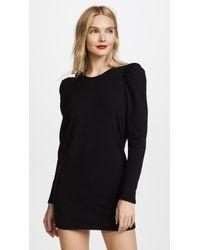 Riller & Fount - Bea Puff Sleeve Sweatshirt Dress - Lyst