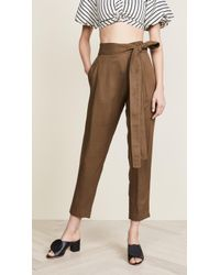 Apiece Apart - Isa Wrap Trousers - Lyst