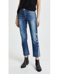 Siwy - Jane B Retro Crop Straight Jeans - Lyst