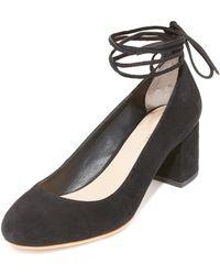 Loeffler Randall - Clara Suede Court Shoes - Lyst