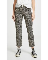 A.P.C. - Basse Leopard Jeans - Lyst