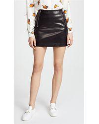 Anine Bing   Julia Leather Skirt   Lyst