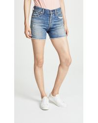 Citizens of Humanity - Nikki Shorts - Lyst