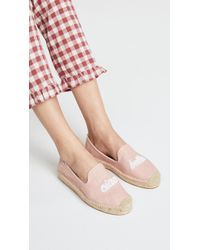 Soludos - Ciao Bella Smoking Slippers - Lyst