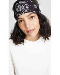 Lyst - Alexander Wang Bandana Headband in Red 50b9903f7e7