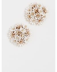 Kate Spade - Loves Me Loves Me Not Statement Studs - Lyst