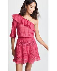 Temptation Positano - Bali One Shoulder Short Dress - Lyst