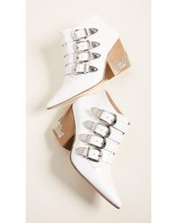 Toga Pulla - Heeled Buckled Booties - Lyst