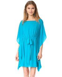 Alice + Olivia - Zella Short Caftan Dress - Lyst