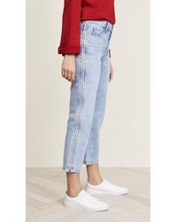 Siwy - Cheryl Retro Cropped Jeans With Side Zip - Lyst