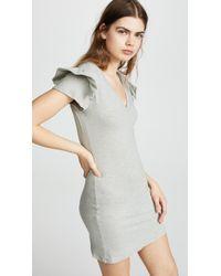 Pam & Gela | Ruffle Sleeve Dress | Lyst