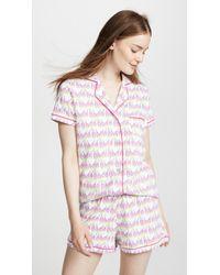 Roberta Roller Rabbit - Sissou Polo Pajama Set - Lyst