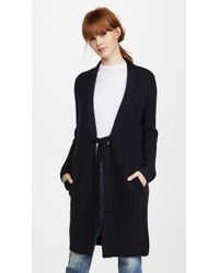 Vince | Saddle Shoulder Cardigan | Lyst