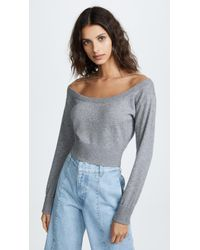 Alexander Wang - Cropped Pullover Sweater - Lyst
