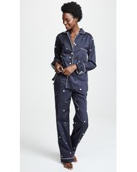 Sleeper - Blur On Coal Pj Set - Lyst