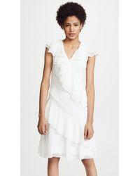 Prabal Gurung - Ruffle Dress - Lyst