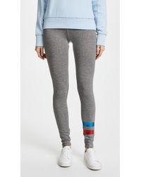 Sundry | Foil Stripes Yoga Trousers | Lyst