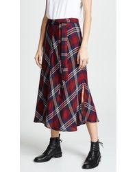 Velvet - Callen Skirt - Lyst