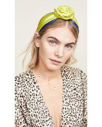 NAMJOSH - Colorblock Bun Headband - Lyst