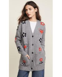 Chinti & Parker - Hand Embroidered Milagro Cardigan - Lyst
