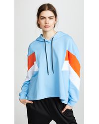 MSGM - Hooded Sweatshirt - Lyst