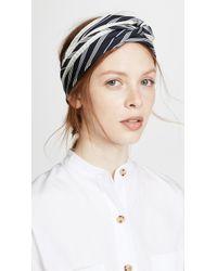 Rag & Bone - Narrow Silk Headwrap - Lyst