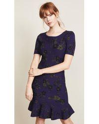 MILLY - Twilight Mermaid Dress - Lyst