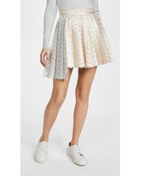 Jourden - Gel Asymmetric Skirt - Lyst