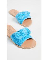 Ancient Greek Sandals - Taygete Bow Slides - Lyst