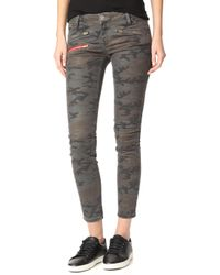 Etienne Marcel - Camo Skinny Jeans - Lyst
