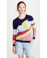 Boutique Moschino - Moon Landscape Jumper - Lyst