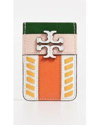 Tory Burch - Mcgraw Pieced Card Pocket - Lyst
