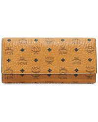MCM - Trifold Wallet - Lyst