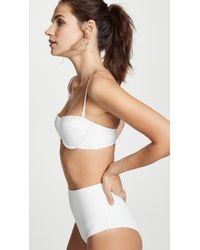 Zimmermann - Separates Textured Underwire Bikini Top - Lyst