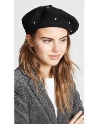 Kate Spade - Bedazzled Beret Hat - Lyst